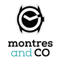 Petit logo carré Montres & Co