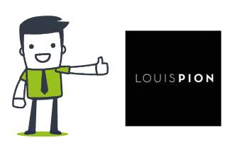 Mascotte et Louis Pion