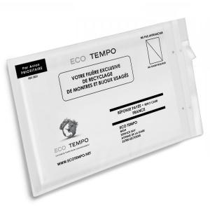 enveloppe prépayée de recyclage -EcoTempo