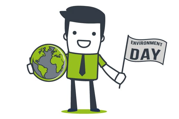 Mascotte environment Day