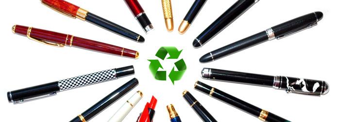 recyclez vos stylos